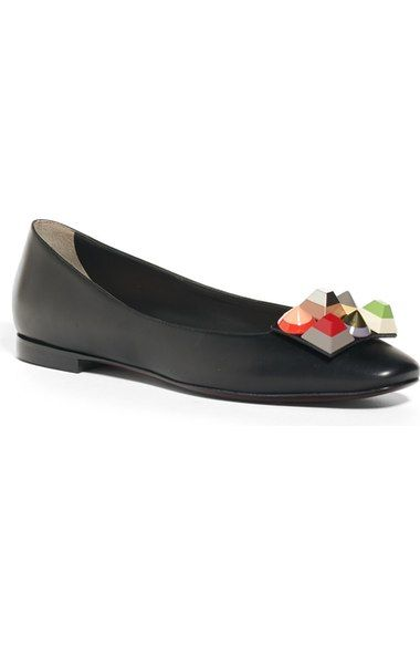 be702ad51509 Fendi Rainbow Skimmer Flat (Women) available at  Nordstrom ...