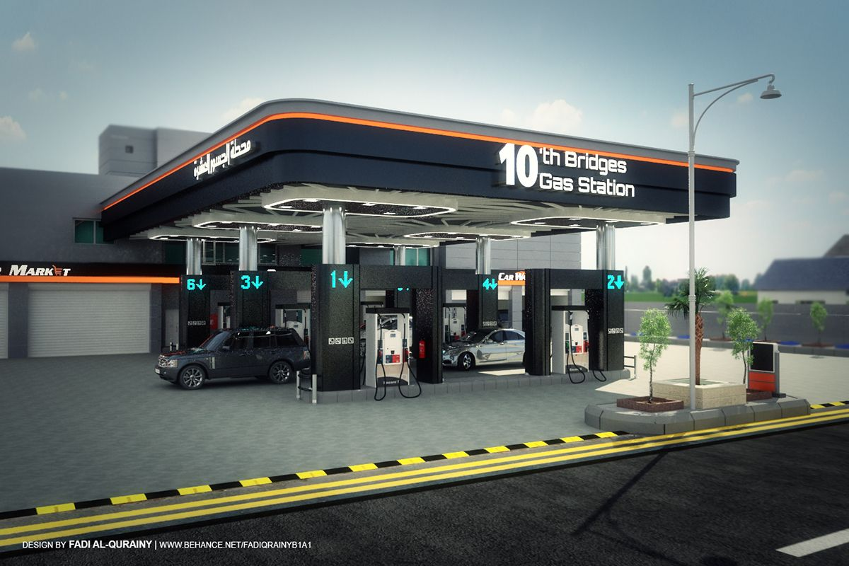 This Design Was Created For Change The Gas Station Concepts By