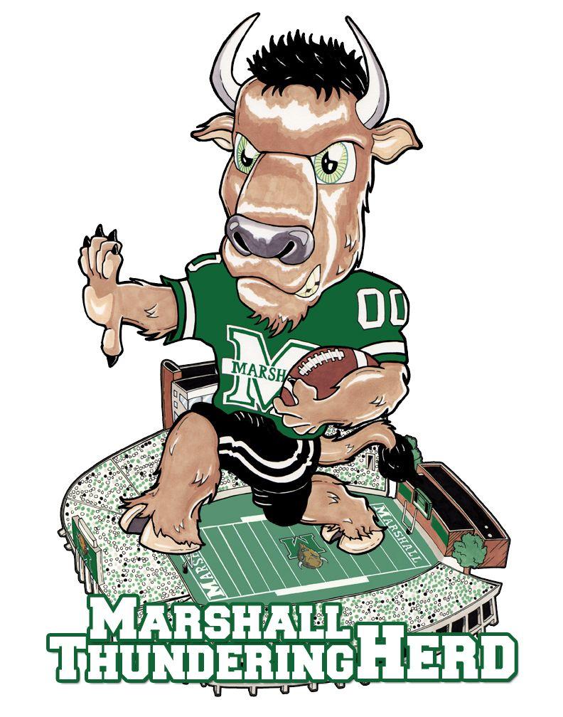 Marshall mascot marshall zelda characters