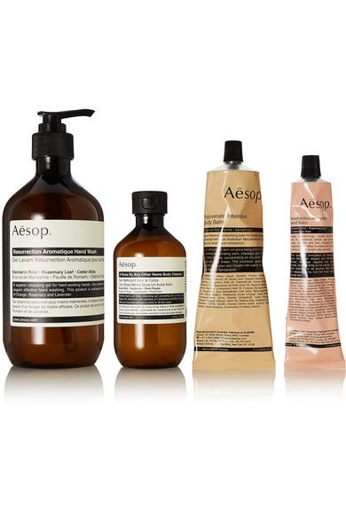 Aesop Glamorous The Avid Explorer Set Body Balm Hand Balm Soap Gift Set
