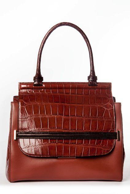 Crocodile Handbag For