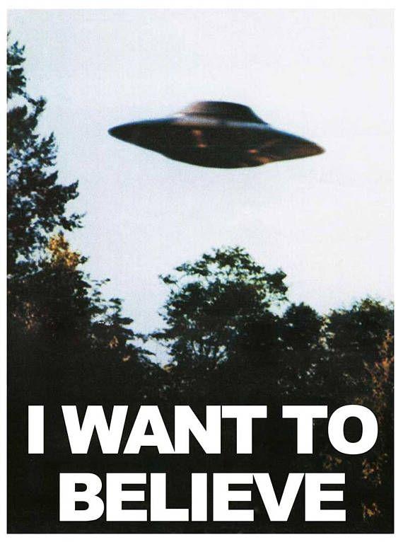 Photo of Xのファイルと思っているみたいですポスター X-ファイルポスター、UFOのポスター、UFOの印刷