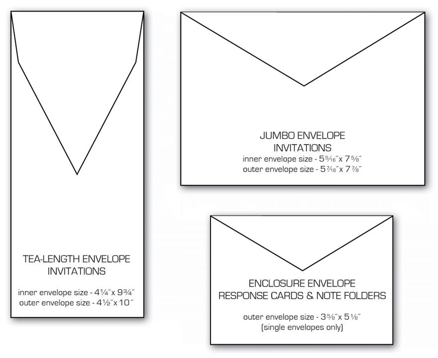 envelope sizes letterform design pinterest envelope sizes