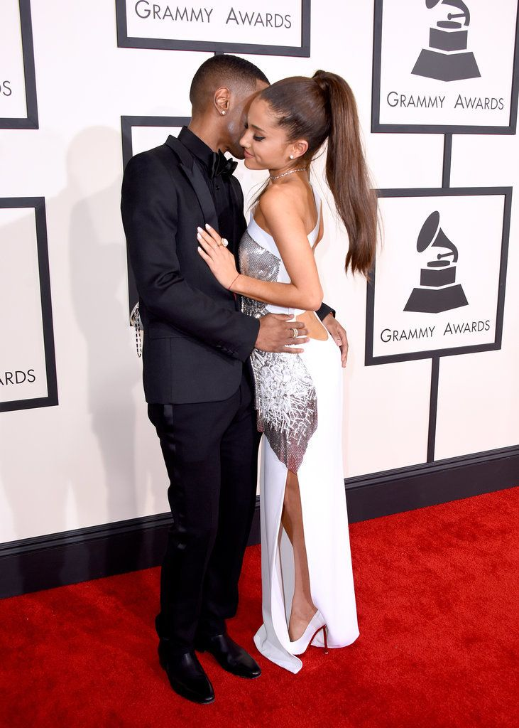 Ariana grande hair falling out at grammys