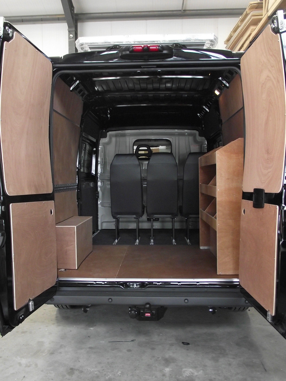 Citroen Relay 2016 - Ply lining, ply racking, seats