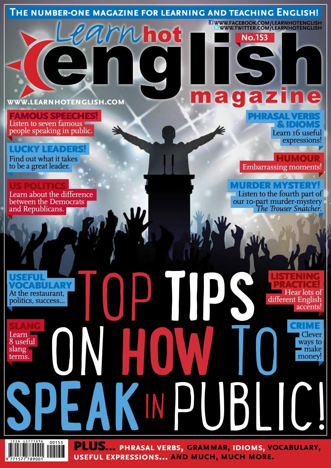 Libros Para Hablar En Publico Top Tips How To Speak In Public 2015 Inglés Aprender