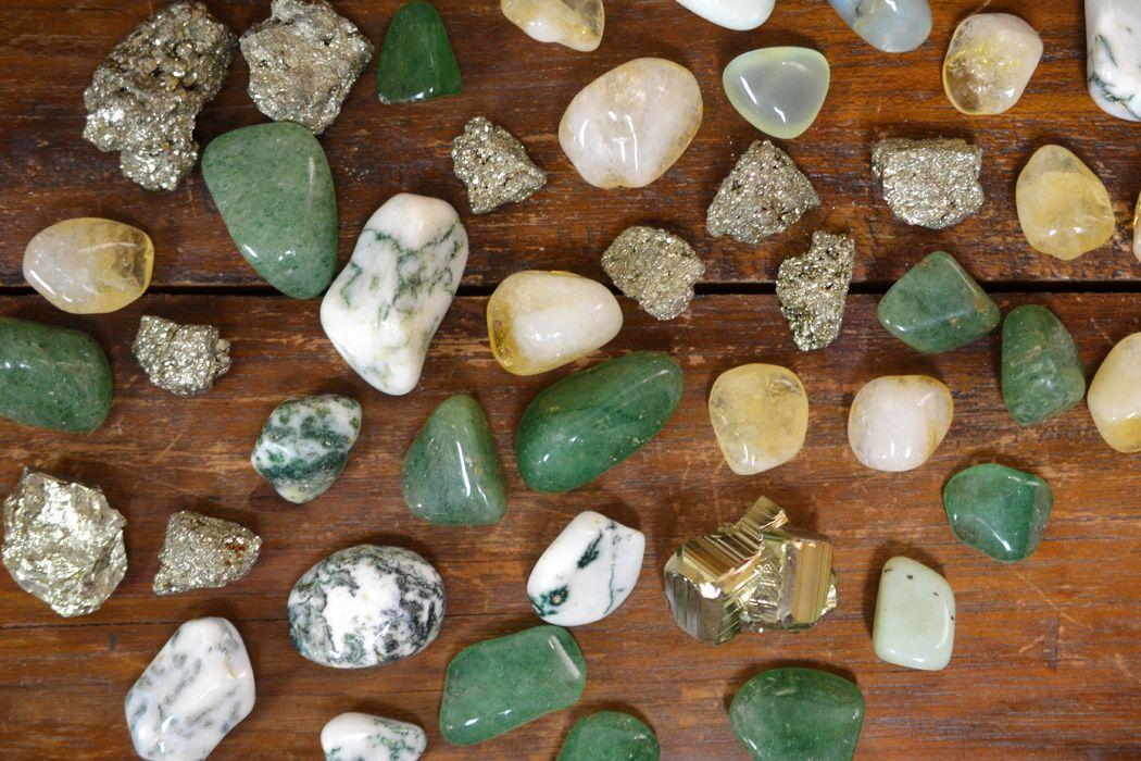 Amazonite Tiger eye earrings  Money attraction stone