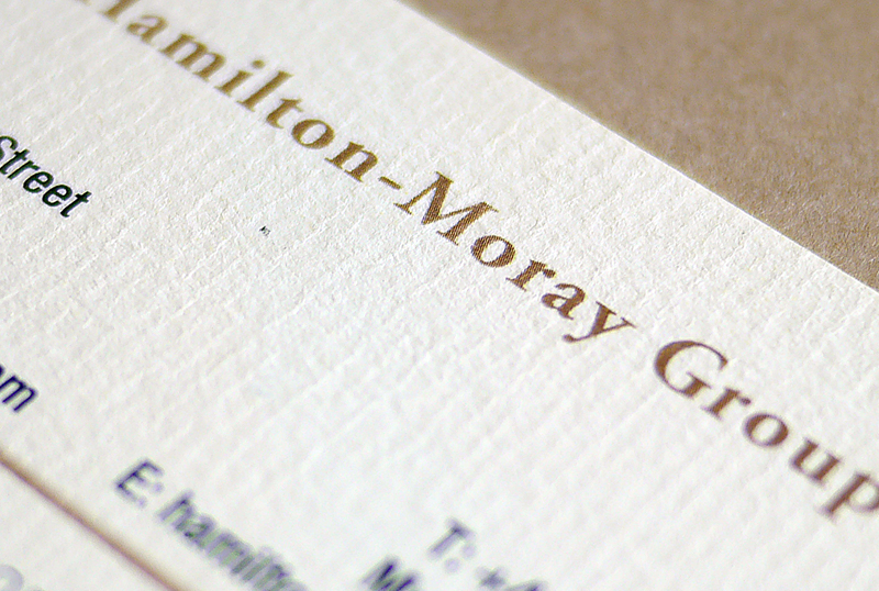 Textured business card paper arts arts customer s business cards printed in conqueror cream laid textured colourmoves