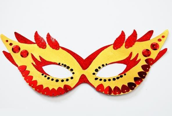 Как сделать карнавальные маски на Хэллоуин? | Маски дети ...