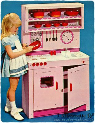 Toy Kitchen Sets Catalogues 1960 S 1980 S She Ll Wash Clothes