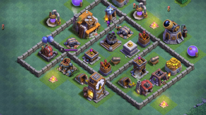 Top 5 Best Clash Of Clans Builder Hall 5 Base Designs Clash Of Clans Clan Design