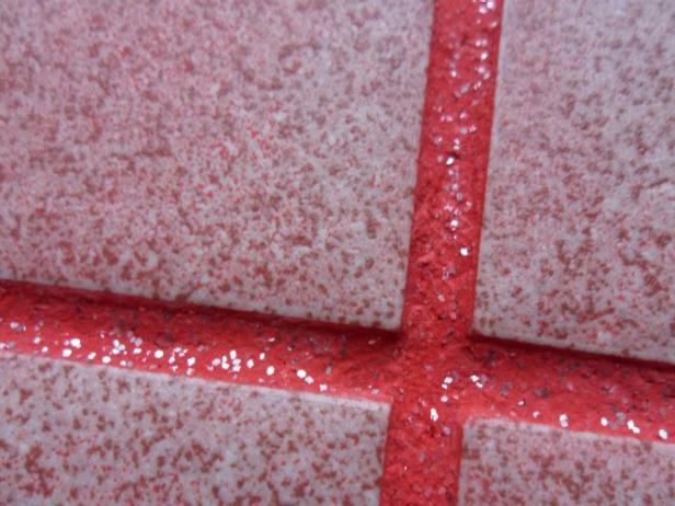 Hold On, Glitter Grout Exists and We're Obsessed