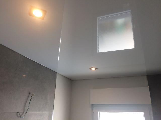 Spanndecken Anwendungsbeispiel Spanndecken Decke Wohnbereich