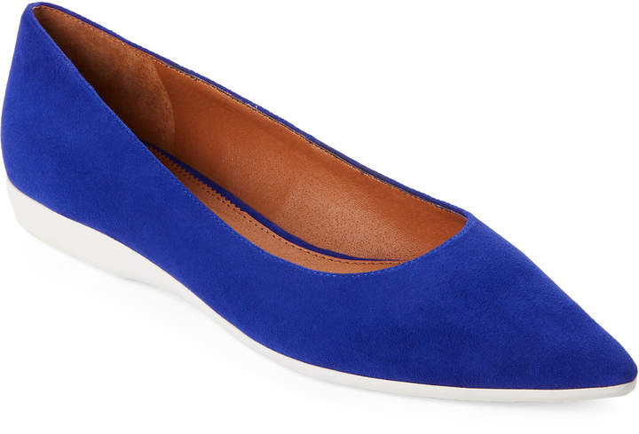 Marc Fisher Royal Blue Dexie Suede