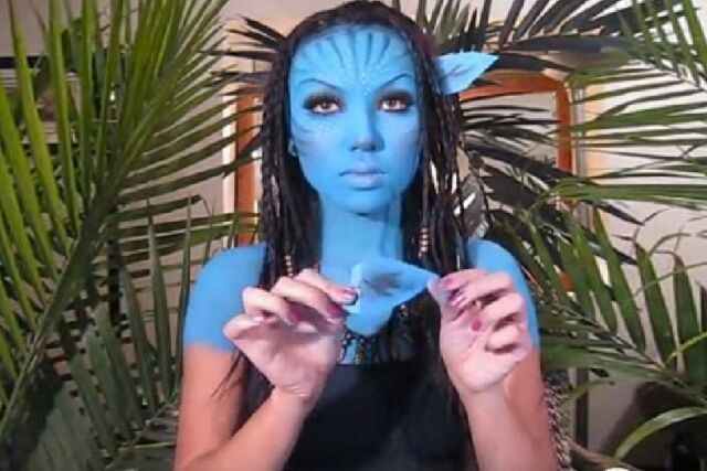 avatar makeup tutorial halloweentip avatar makeup