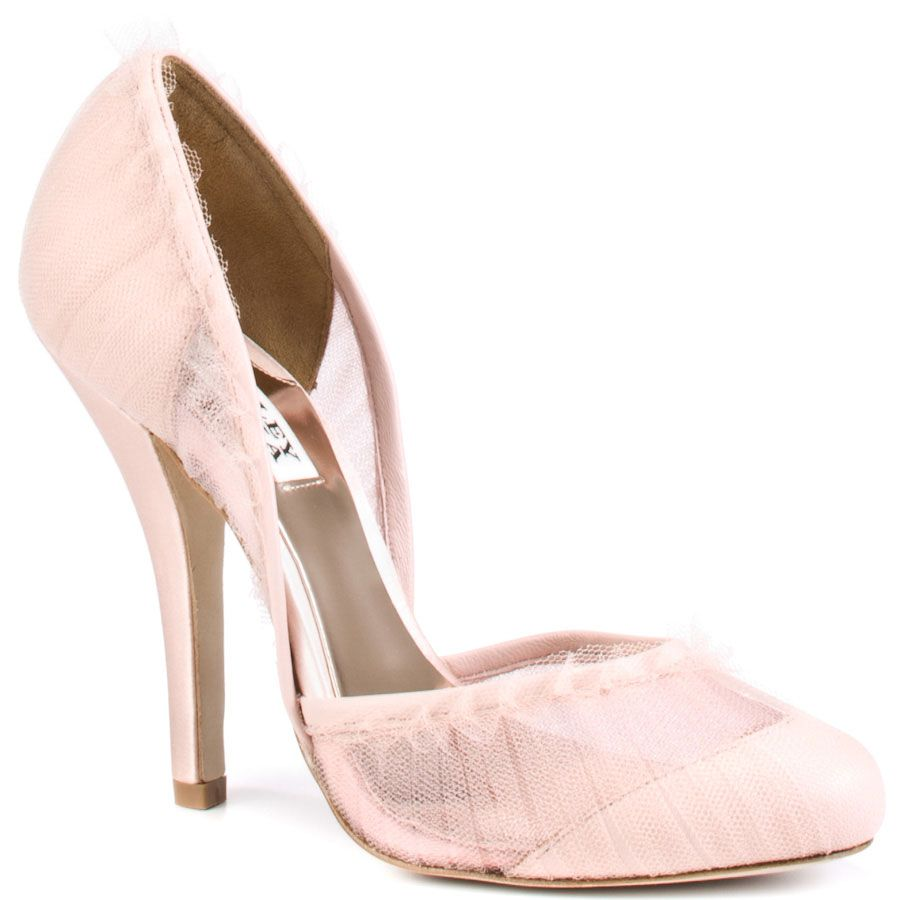 Wedding Shoes Dusk Pink Badgley Mischka 199 99