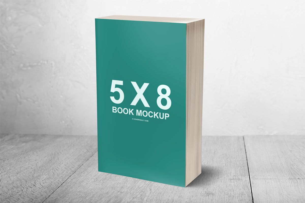 paperback book mockup