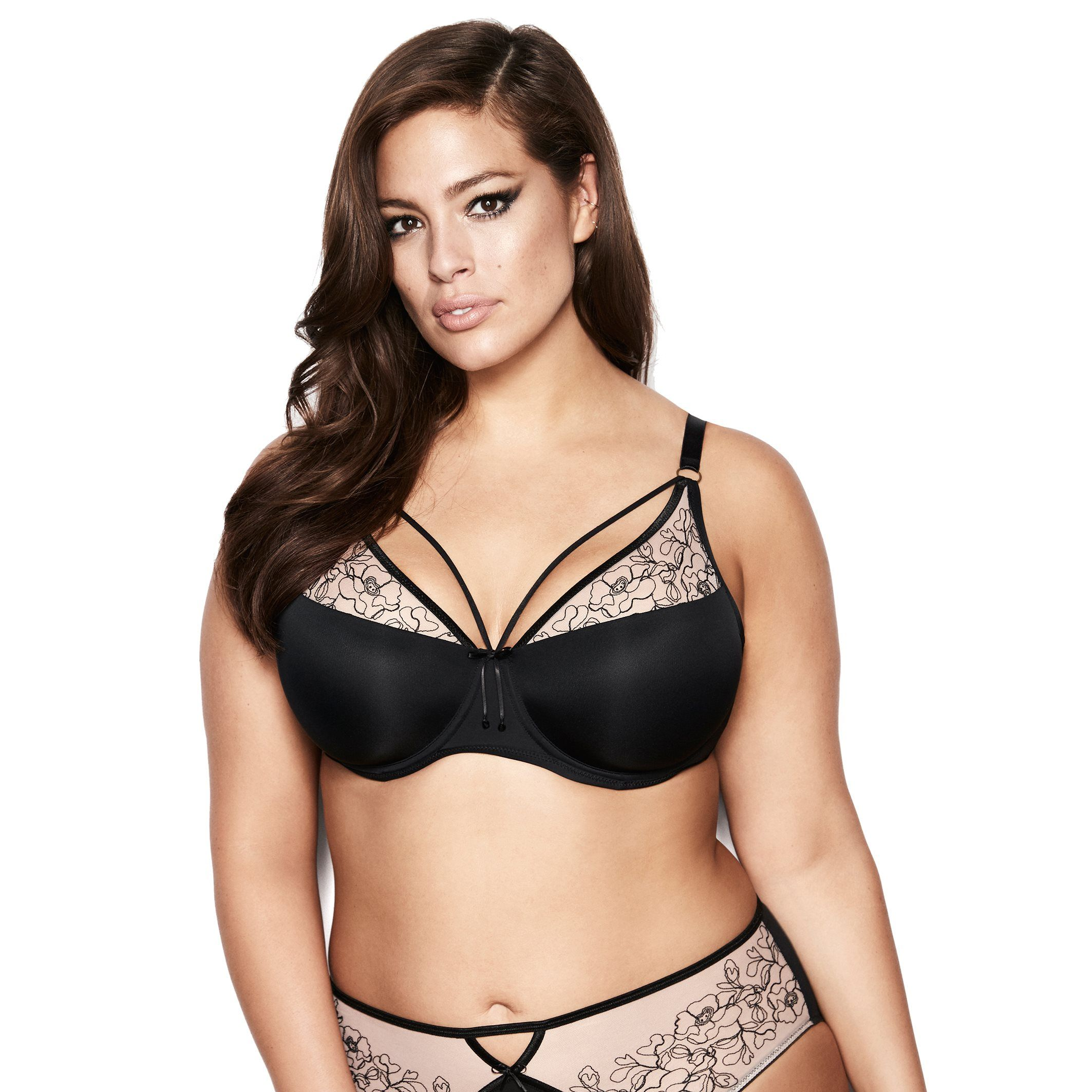 e2fdda56431a1 Shop online for Ashley Graham Diva Demi Cup Bra. Find Bras