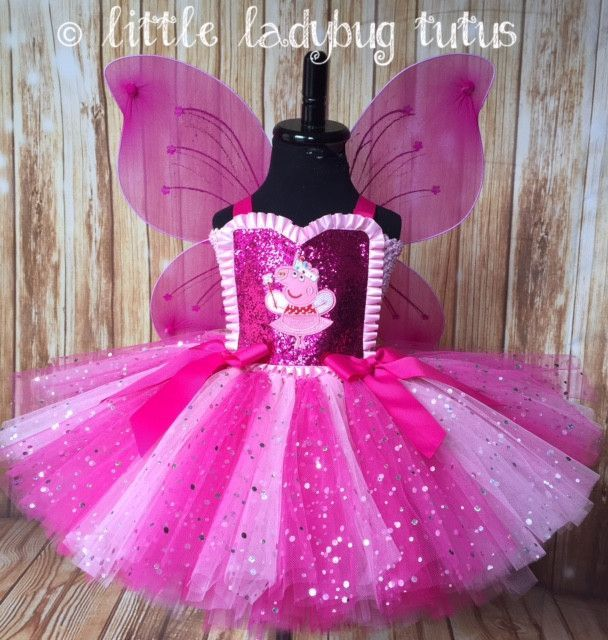 2f14bc07a6d2 Peppa the Pig Tutu, Peppa Tutu, Peppa the Pig Party Dress in 2019 ...