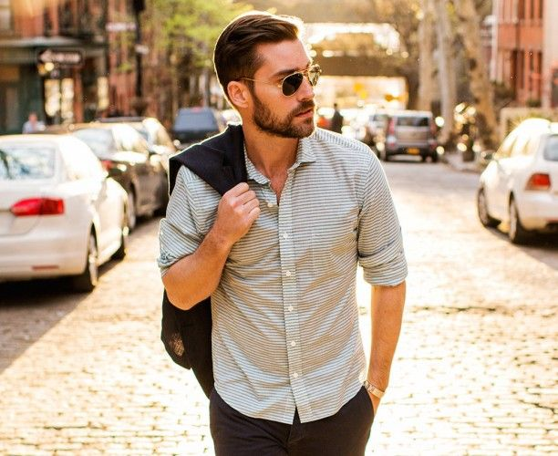 How to Wear Button Ups Casually and Look Good Doing It - Men | Our ...