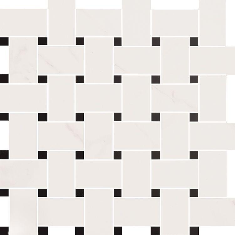 precious mosaic tie calacatta  by love tiles