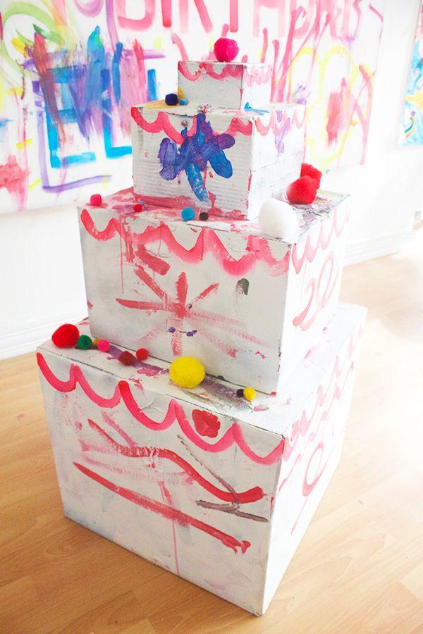 Cardboard Birthday Cake Super Sweet 16 Pinterest Birthday