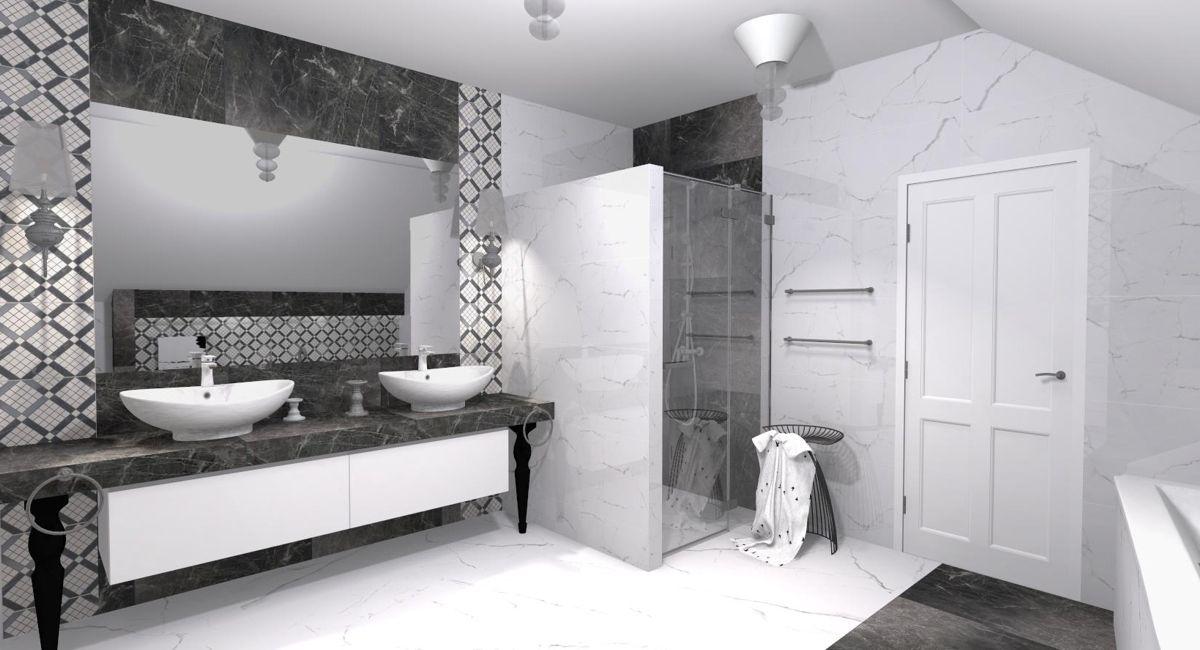 Projekt Autorstwa Pracowników Galerii łazienek Egen
