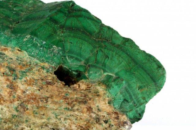 carbonato malaquita