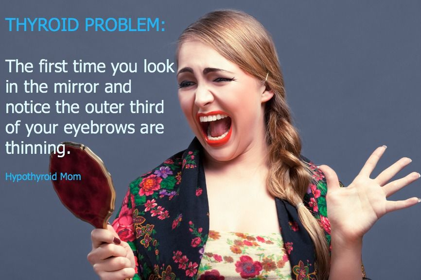 Thyroid Problem The First Time You Look In The Mirror And Notice