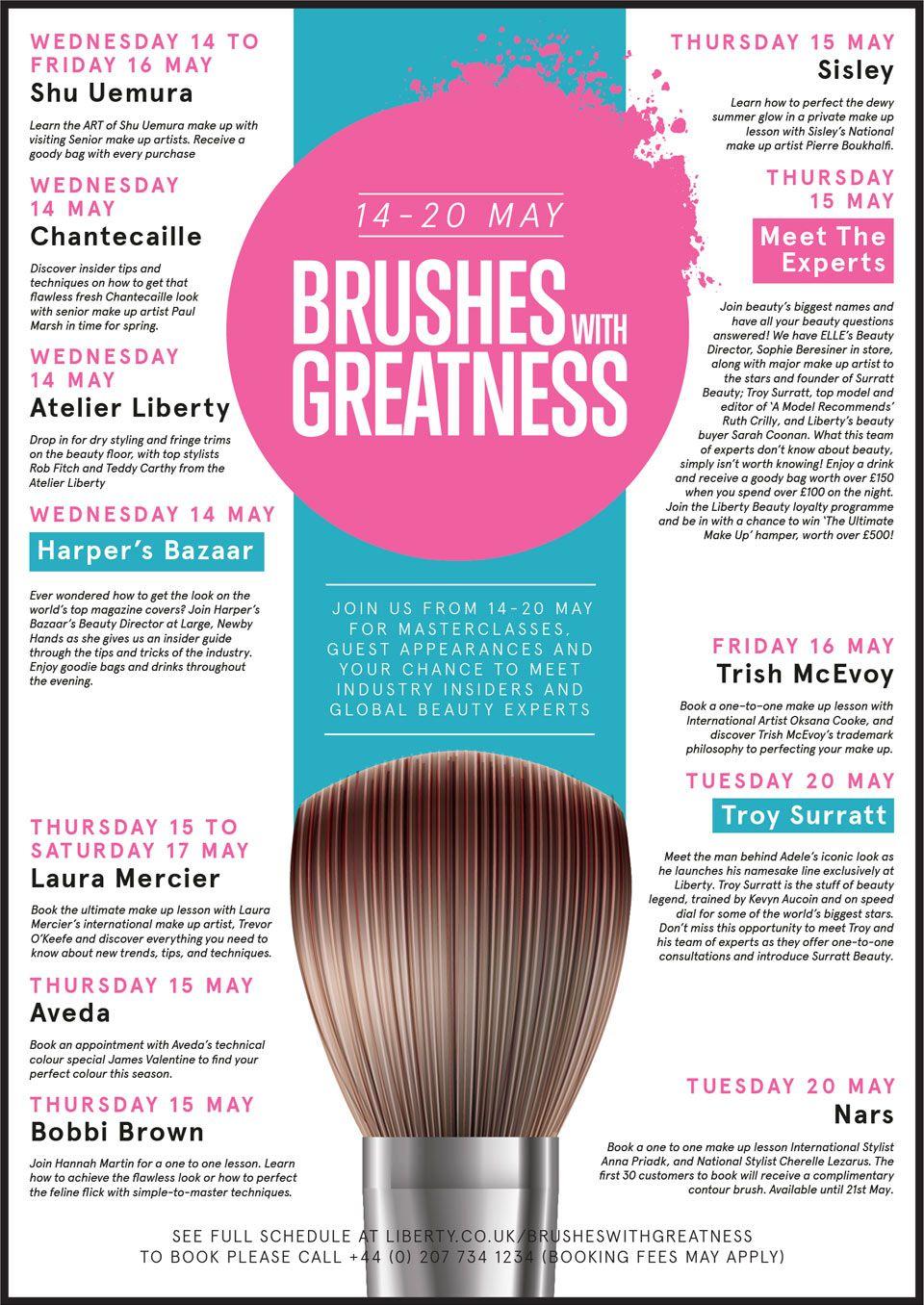 Beauty Masterclasses @ Liberty Beauty Hall