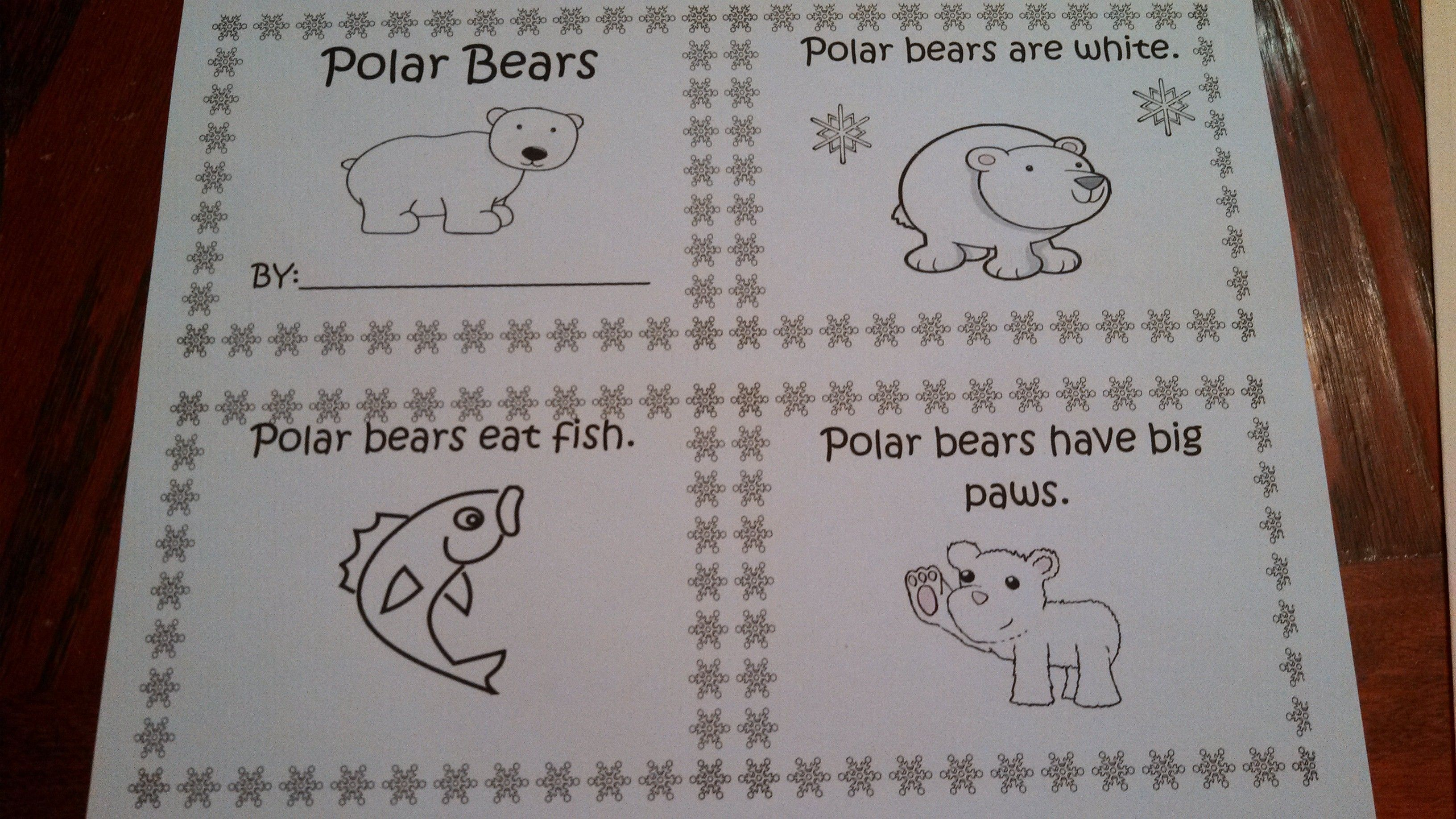 Polar Bear Activities With Images