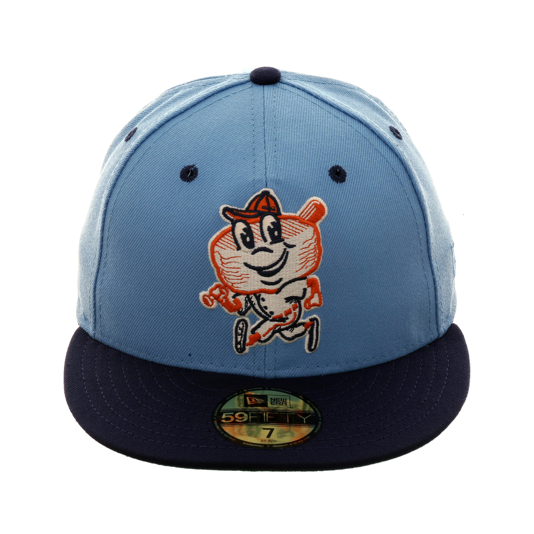 Exclusive New Era 59fifty Greenbow Biscuits Hat 2t Light Blue Light Navy New Era 59fifty New Era Hats