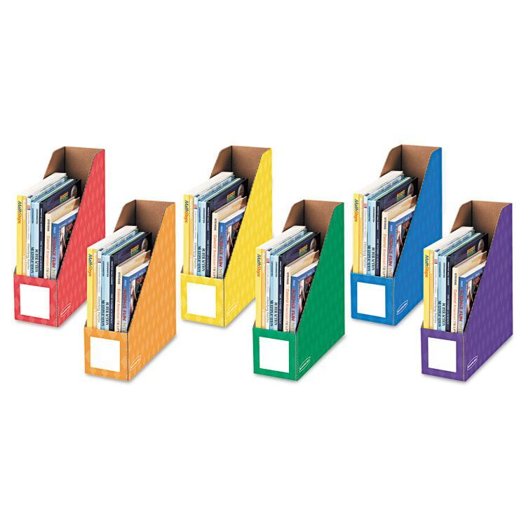 Cardboard Magazine Holders Cardboard Magazine File 4 14 X 12 14 X 13 Assorted 6Pk