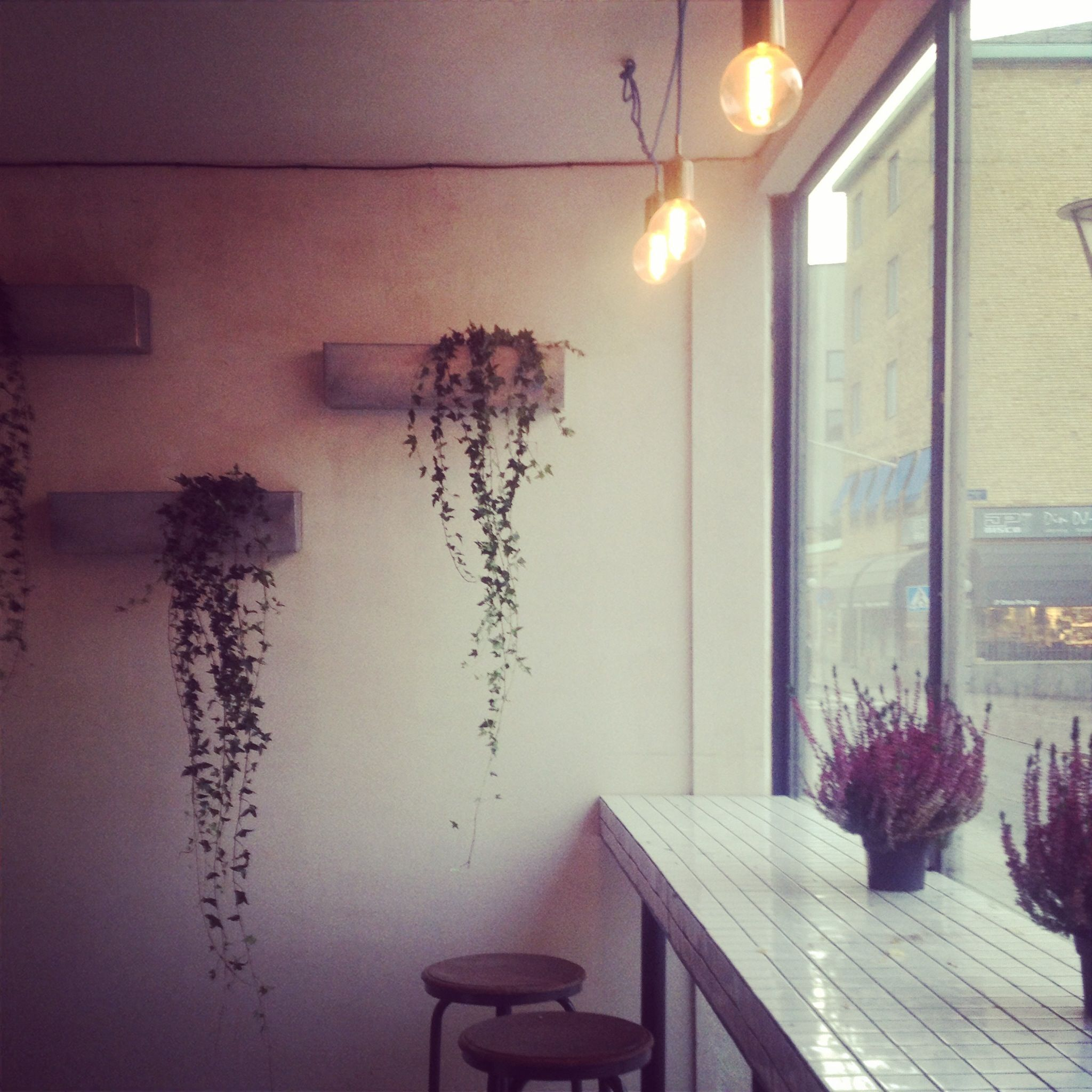Hops Food & Brews Hops bar. Sandinavian Wabi-sabi Gothenburg Sweden Interior Designer: Benedicte Boutou