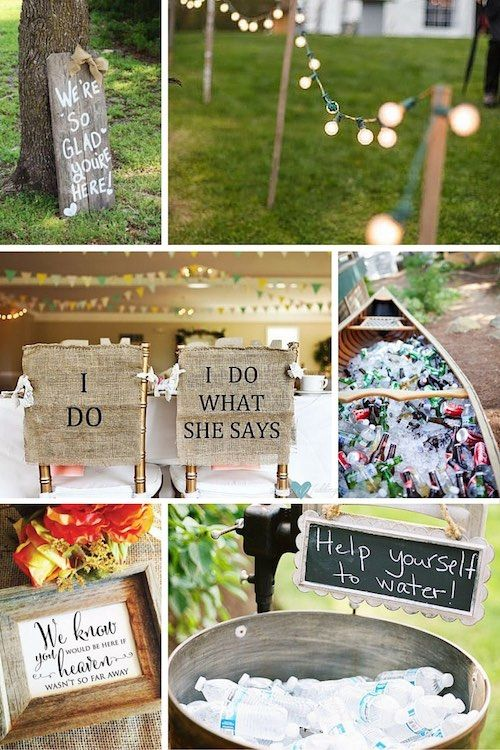 Barn Wedding Decor Ideas Welcome Your Guests With This Sign