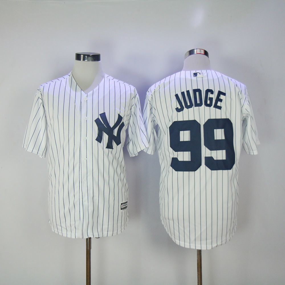 reputable site 09c86 6e245 Men's #New #York #Yankees #99 #Aaron #Judge #White ...