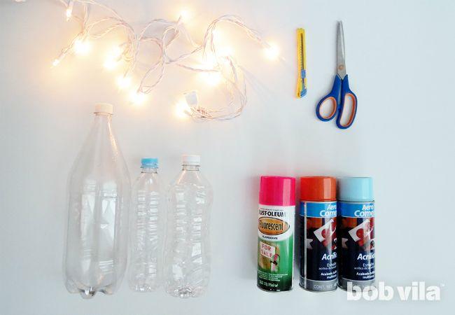 DIY Outdoor Lighting - Suprimentos