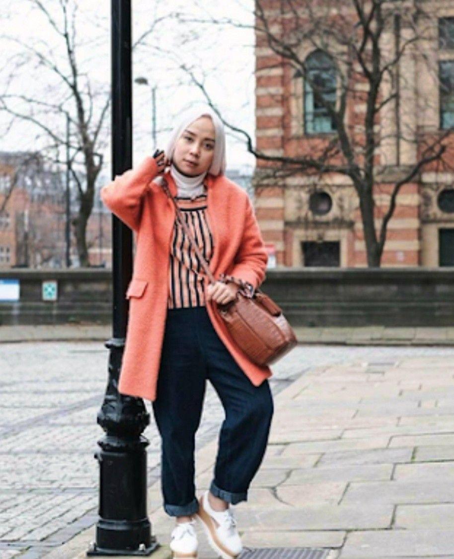 Model Baju Hijab Casual Untuk Wanita Gemuk : Punya Tubuh ...