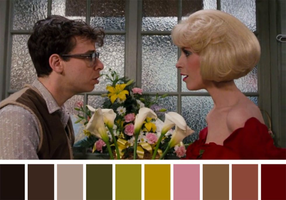 50 iconic films and their color palettes little shop of. Black Bedroom Furniture Sets. Home Design Ideas