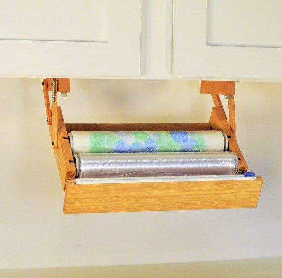 Under Cabinet Pull Down Storage For Wrap Bags Etc Ultimate