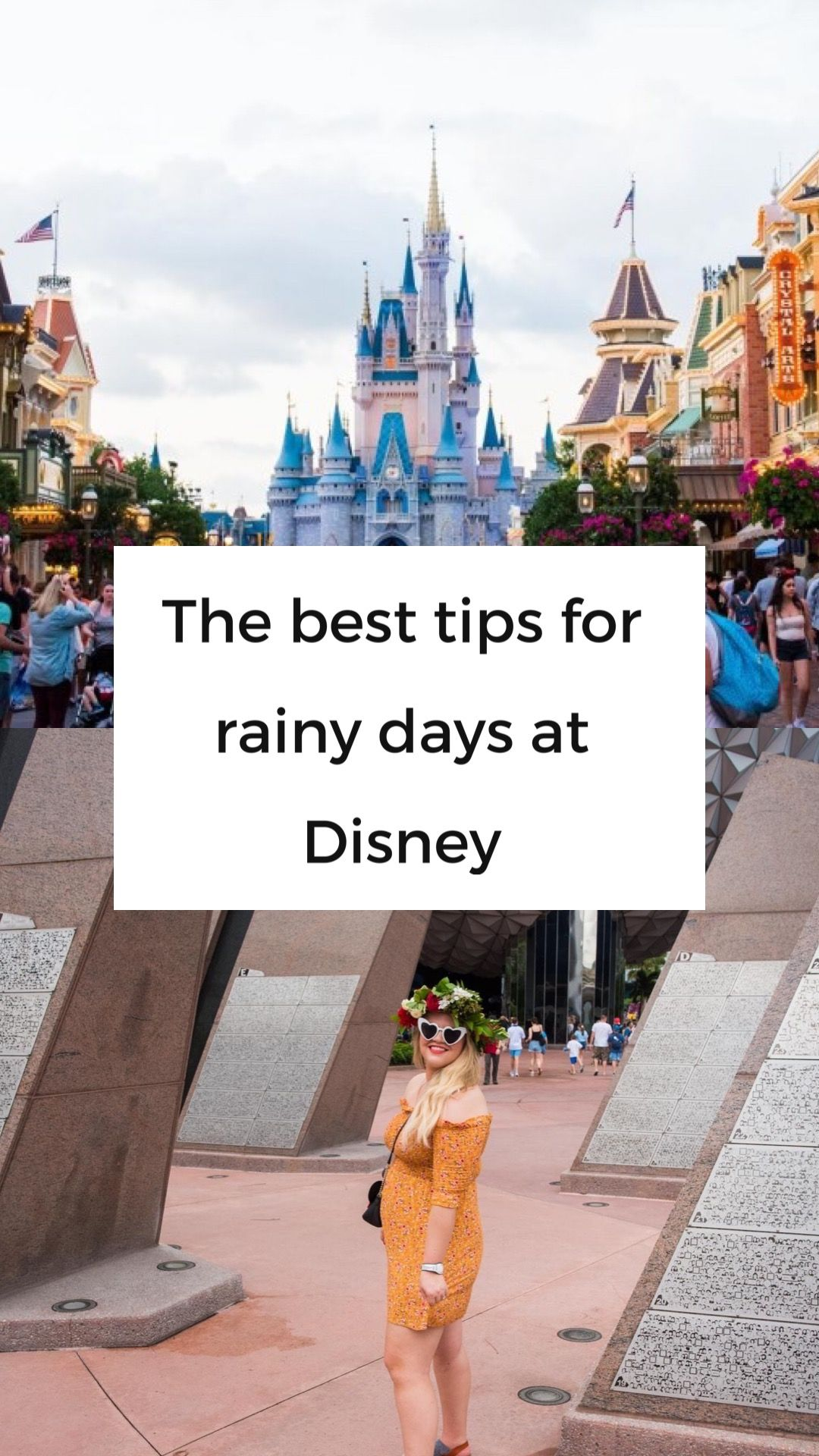 Tips for Rainy Disney Days With images  Disney world
