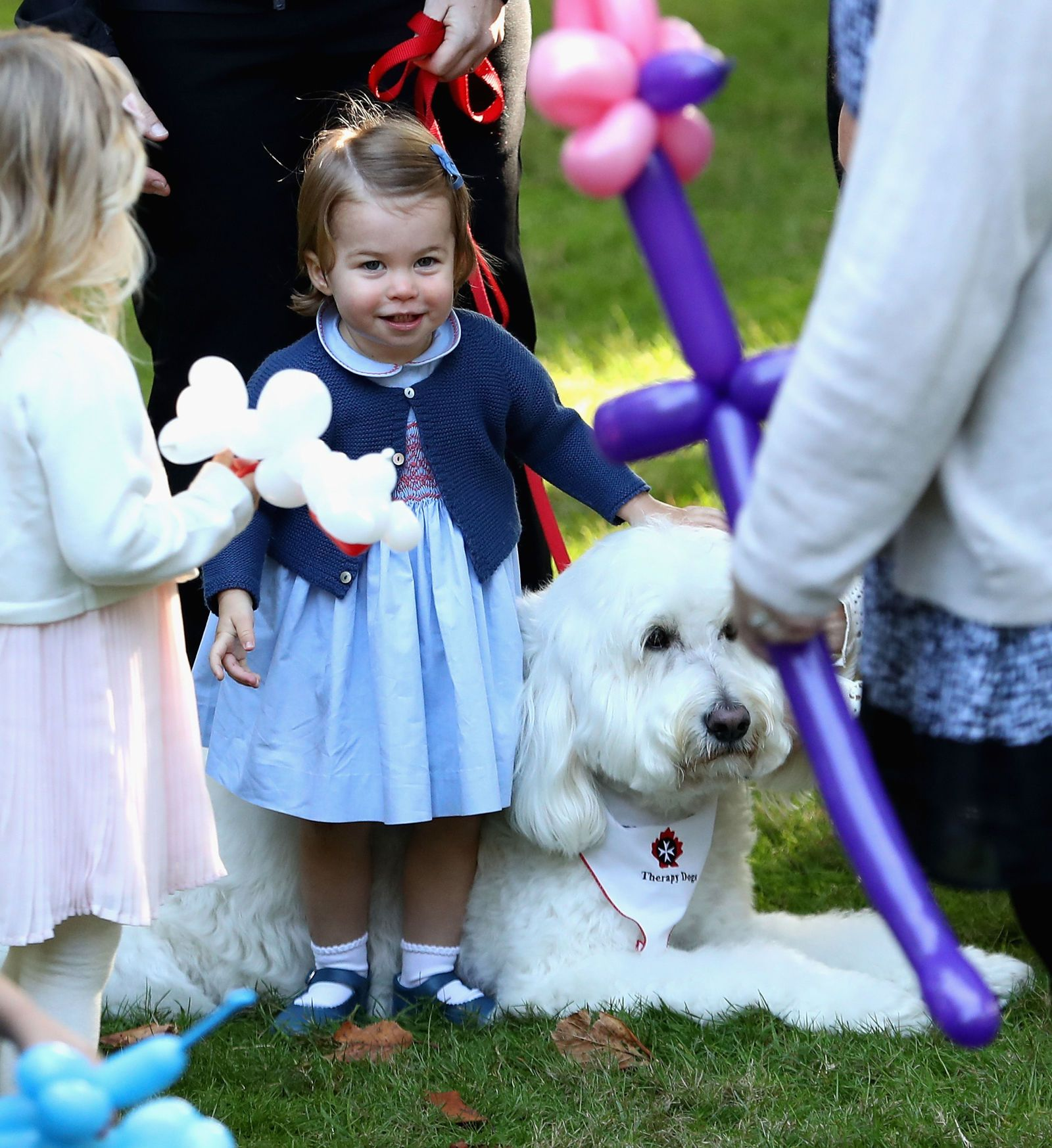 This Insanely Adorable Video of Princess Charlotte Playing With Balloons Will Make Your Day