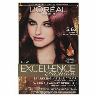 Loreal Excellence Fashion Hair Dye Violet Brown Violet Brown