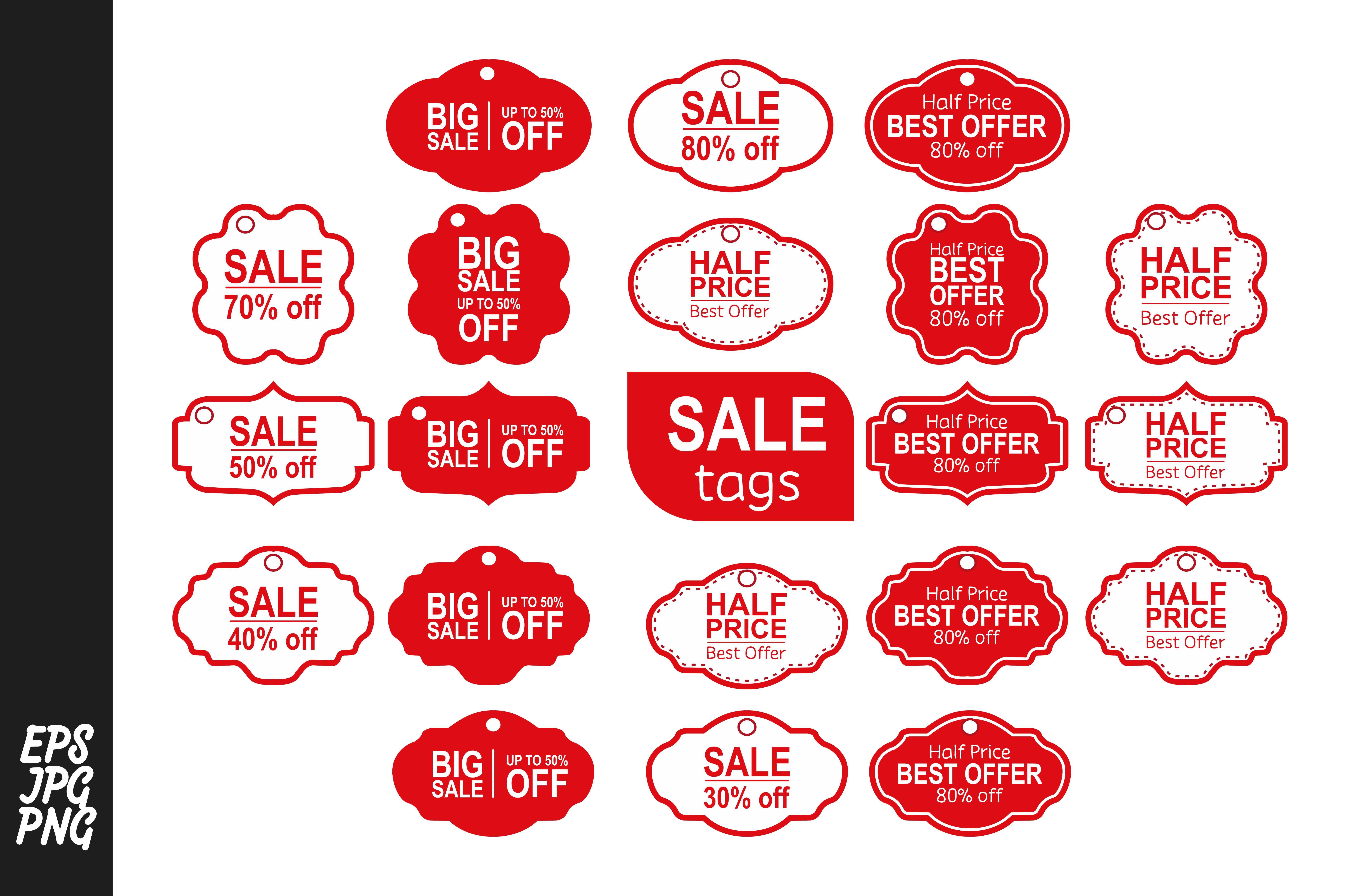 20 Tag Sale Bundle