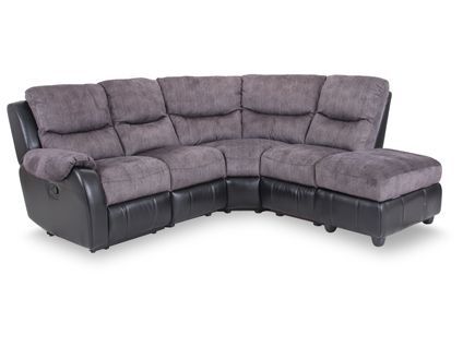 Onyx Standard Corner Group With Manual Recliner Action Chaise Right And Storage Footstool Living Roo Footstool Living Rooms Storage Footstool Sofa Furniture