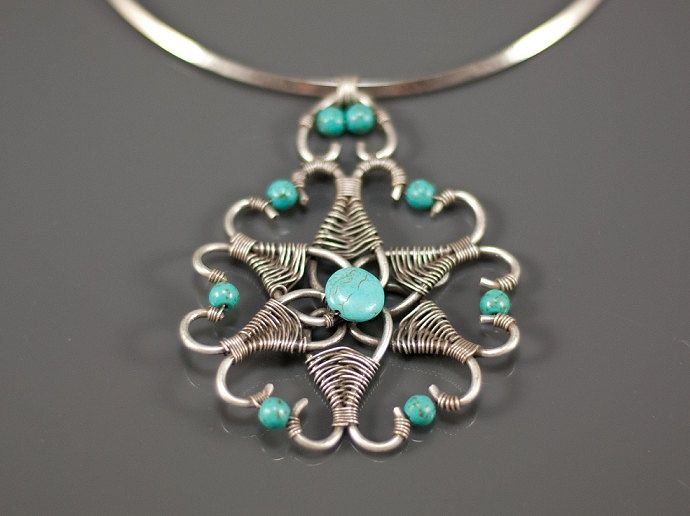 handcrafted wire jewelry | ... wire wrapped jewelry handmade-wire ...