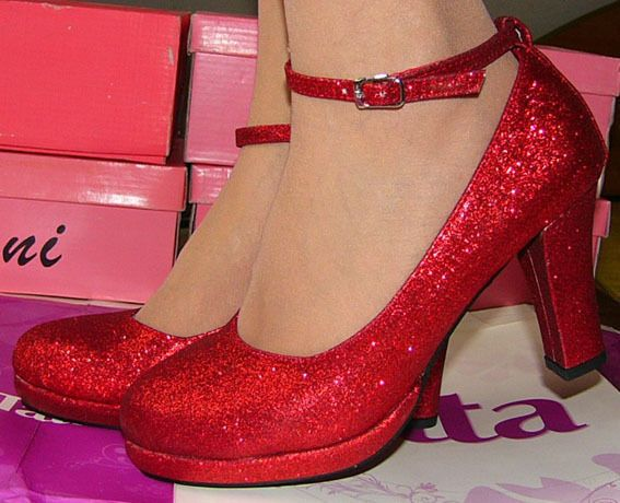 Bridal Shoe Red Dress Shoes For