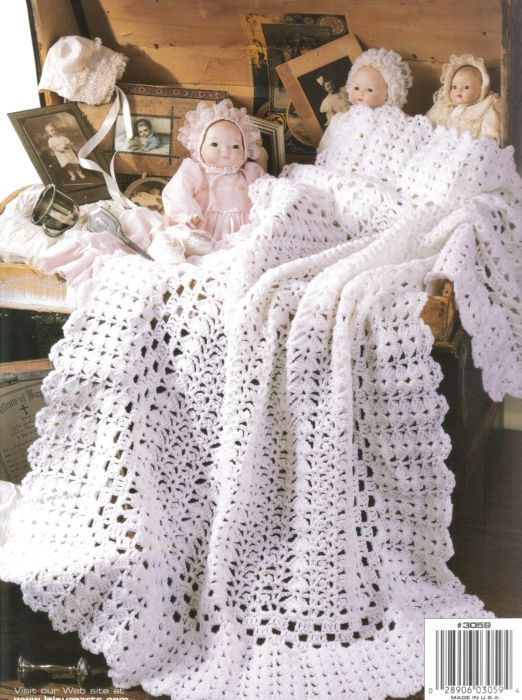 Image detail for -Heirloom Afghans for Baby Crochet Pattern Book ...