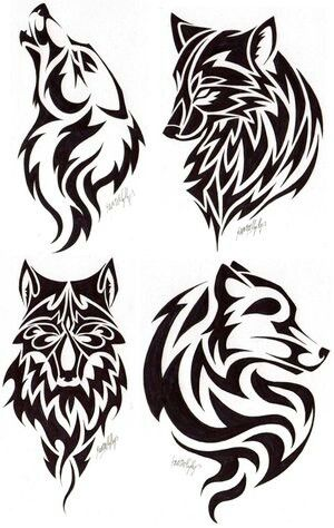 Pin By Katrielle Wulff On Beauty Tribal Tattoos Wolf Tattoos Picture Tattoos