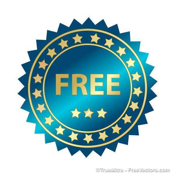 Free sticker vector